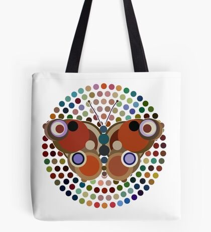 New Beginnings (Rainbow Butterfly) Tote Bag