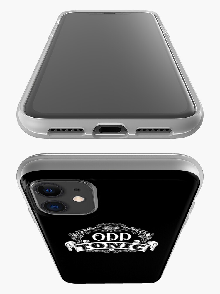 Alternate view of Odd Tonic Official Logo - PRINT ON BLACK iPhone Case & Cover