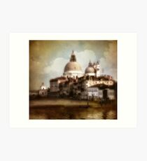 the last time I saw venice... Art Print