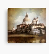 the last time I saw venice... Metal Print