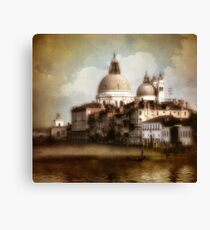 the last time I saw venice... Canvas Print