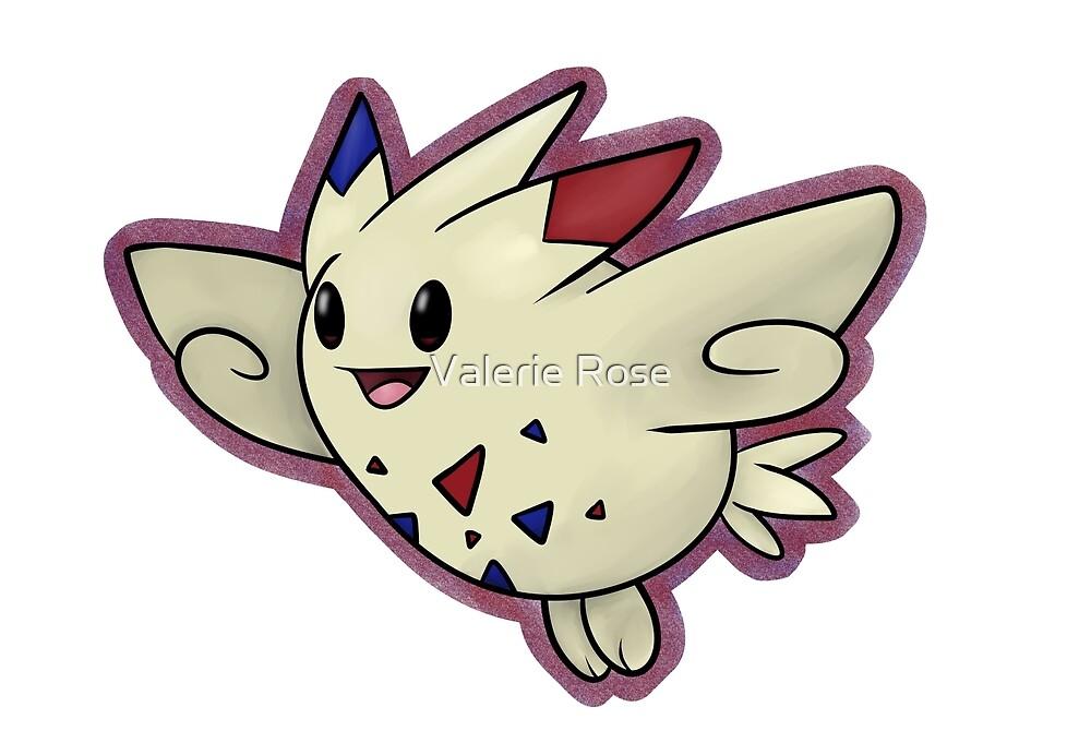 Shiny Togekiss - Pokemon Fan Art by Valerie Rood