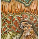 Leopard in the Jungle by MegJay