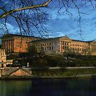 Philadelphia Art Museum along the Schuylkill by Judi Taylor
