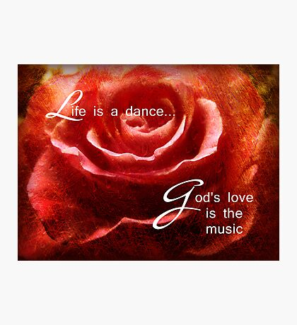 Life is a dance Photographic Print