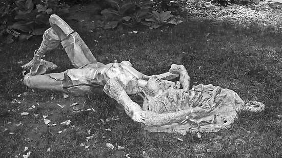 Nude in the Park by Debbi Granruth