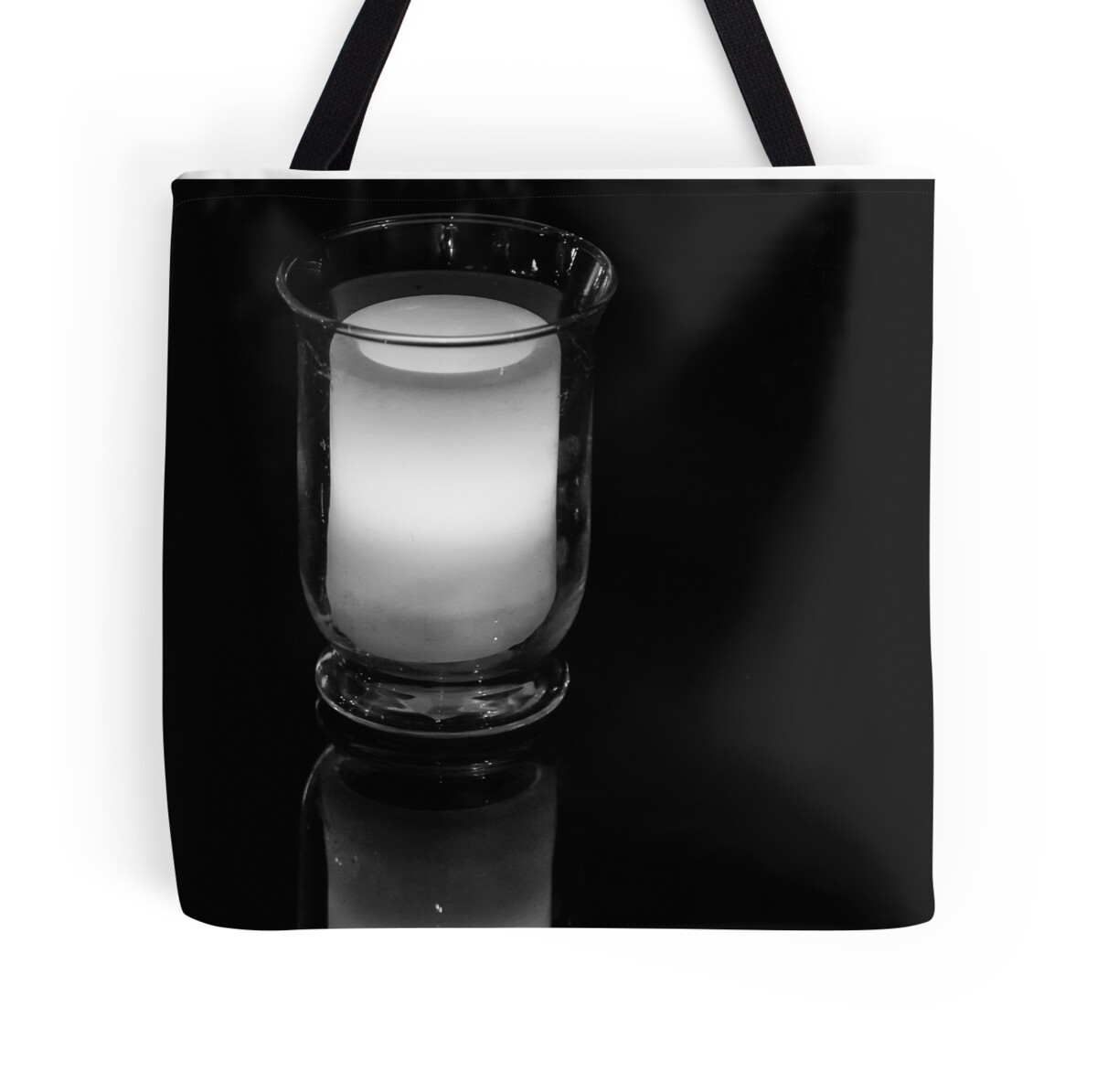"""""""Low Key Light And Reflection"""" Tote Bags By Sandra Chung"""