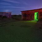 Light Painting the Battery by MattGranz
