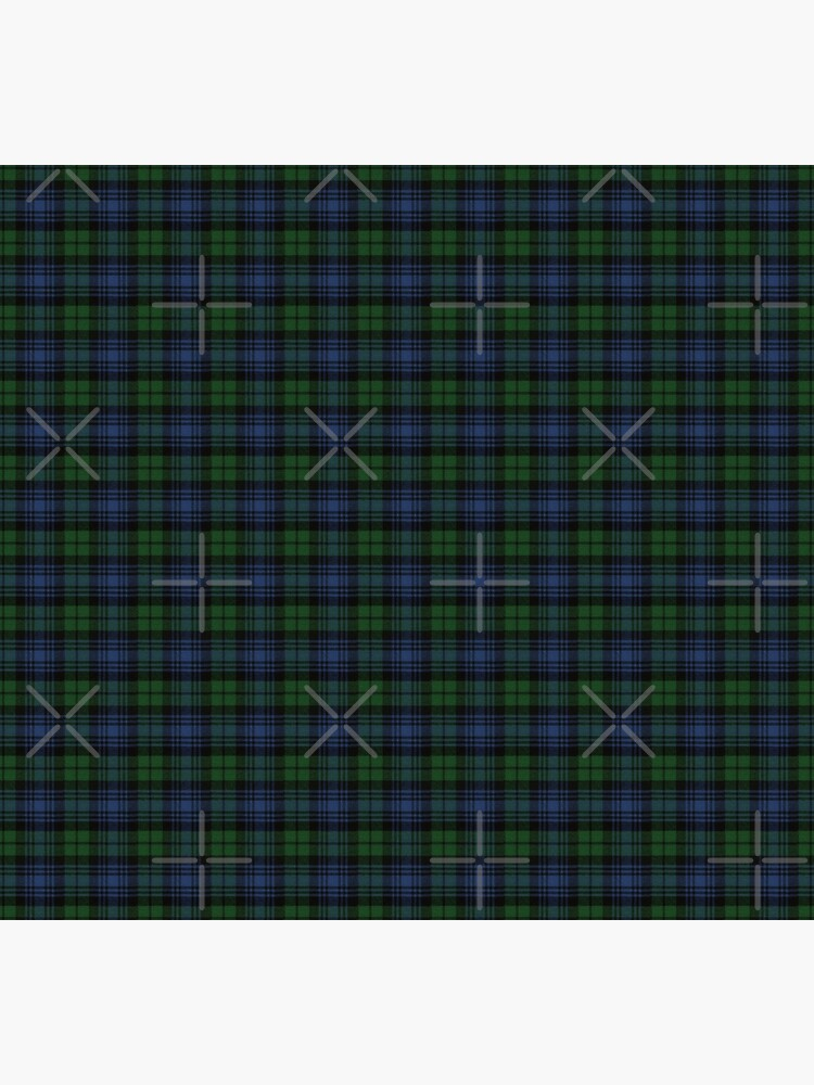 Black Watch Ancient  Original Scottish Tartan by DiamondWillow