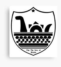 Nessie's Coat of Arms Canvas Print