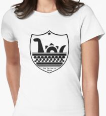 Nessie's Coat of Arms Women's Fitted T-Shirt