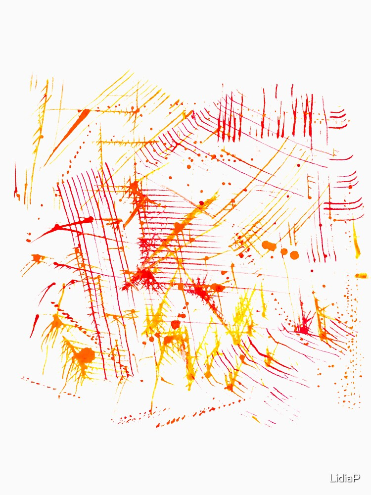 Watercolor abstract strokes by LidiaP