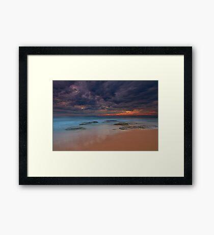 Shelly Beach  Framed Print