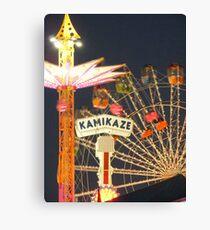 Kamikaze Canvas Print