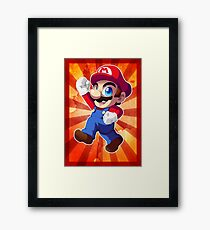 Super Mario RPG: Mario Framed Print