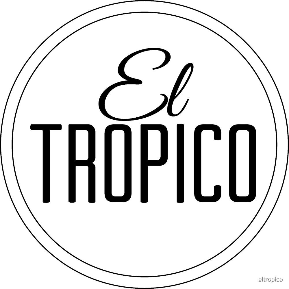 El Tropico Logo circle by eltropico