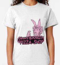 "Tina's ""Pizza"" Shop  Classic T-Shirt"