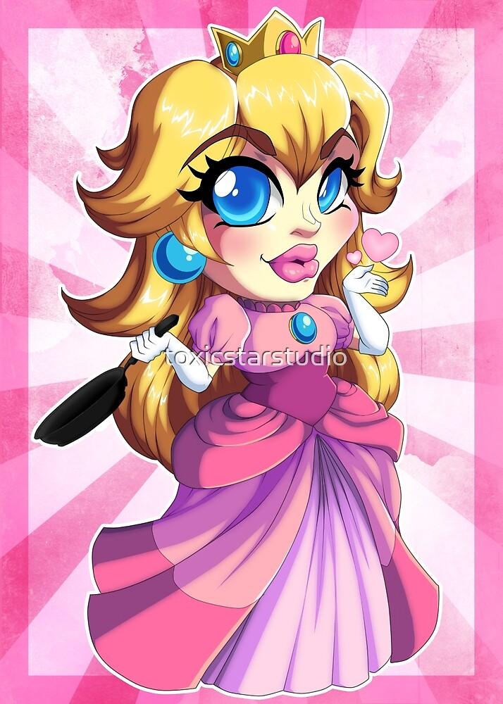 Super Mario RPG: Princess Peach by toxicstarstudio