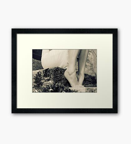 those warm days... Framed Print