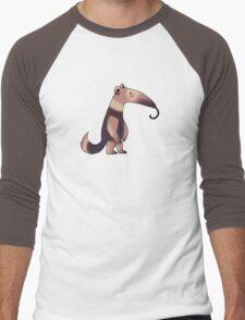 Cute anteater  Men's Baseball ¾ T-Shirt
