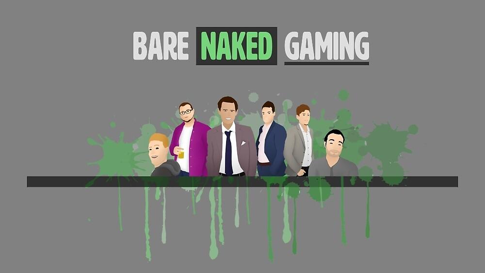 New BNG Logo Design by BareNakedGaming