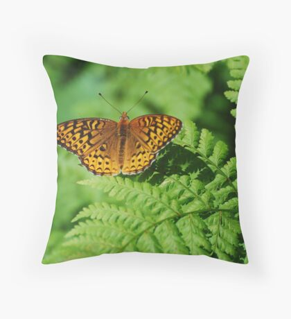 Atlantis Fritilary Throw Pillow