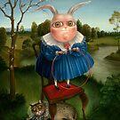 Children's Games - 3.     73 x 57 cm.  Sold by Irena Aizen