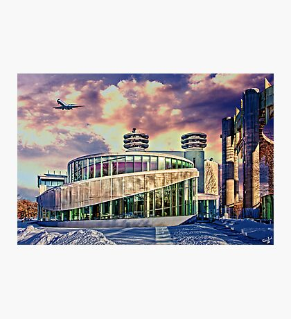 Winter at Flushing Meadows Photographic Print