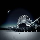 Santa Monica Pier by David Rozansky