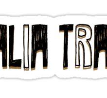 Stalia Trash Sticker