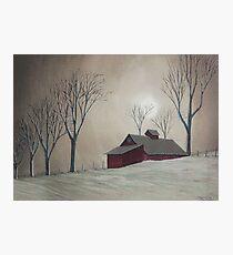 Majestic Winter Night Photographic Print