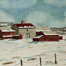 West Winfield Farm by Charlotte  Blanchard