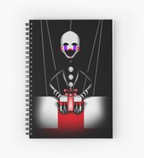 """Fünf Nächte in Freddys 2 - """"Geschenke schenken"""" Spiralblock"""
