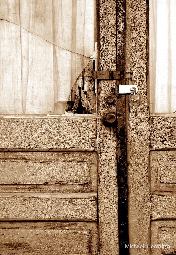 Theater Doors by Michael  Herrfurth