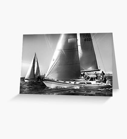 Dreaming of Summer Sailing Greeting Card