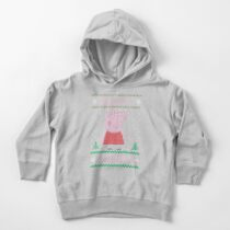 PEPPA UGLY CHRISTMAS Toddler Pullover Hoodie