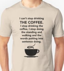I can't stop drinking the coffee t-shirt - Lorelai Gilmore Slim Fit T-Shirt
