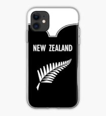 Zealand All Blacks National Rugby Union Team iphone case