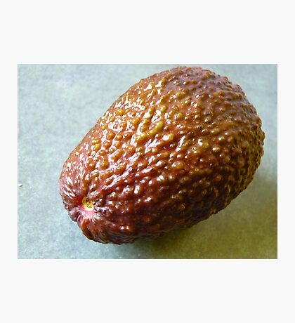 Red avocado Photographic Print