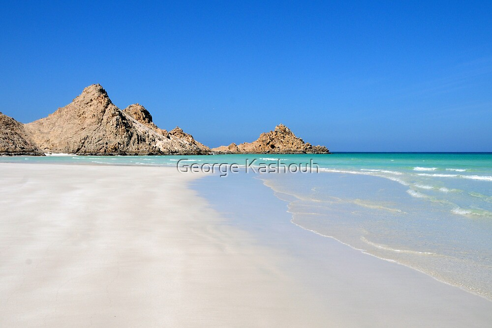 Beaches of Socotra by George Kashouh