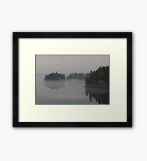 Islands in the Mist Framed Print