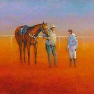 The Jockey's Instructions, Birdsville by Geoff McKenzie