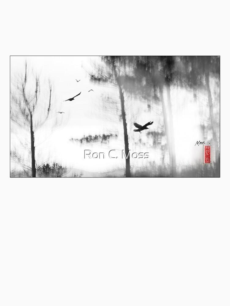 Bush Ravens by ronmoss