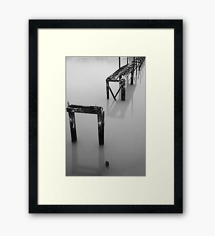 The Forgotten Bridge Framed Print