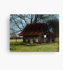 Dollhouse Cabin Canvas Print