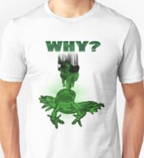 Abused Frog Asking Why T-Shirt