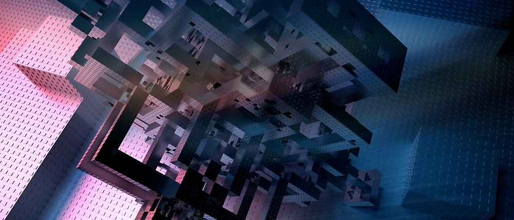 Land on self - Abstract CG by gr8effect