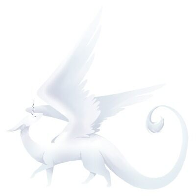 The White Shennavyre by Shennavyre