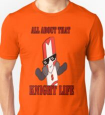 Knight Life-Red Unisex T-Shirt
