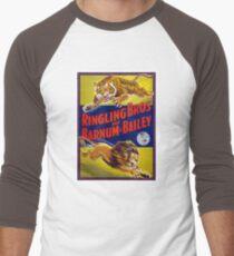 Ringling Brothers & Barnum & Bailey Vintage Poster Baseball ¾ Sleeve T-Shirt